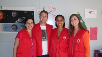 Voluntarios-Cruz Roja